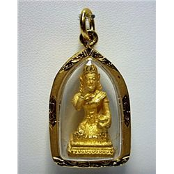 Good Luck Golden Thai Buddha Amulets