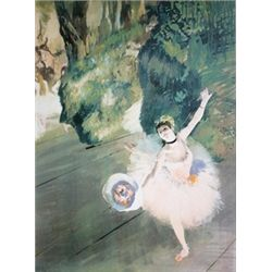 Dancer Taking a Bow (The Prima Ballerina) by Edgar Degas  Lithograph