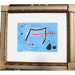 Personages, Birds and Star  - Miro - Limited Edition