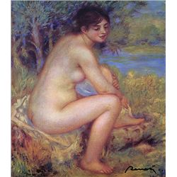 Nude - Renoir - Limited Edition on Canvas