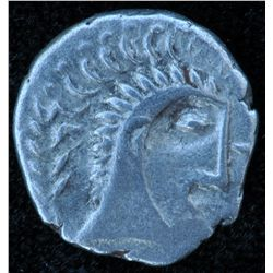 Iceni (61 AD) - AR-Unit Obv: Queen Boudicca r., Rev: Horse r., 1.2g, Ex:Spink 2008 #434, superb port