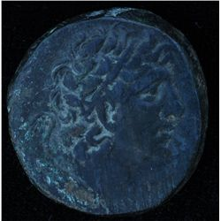 Mithradates VI (87-85 BC) - AE-26 Smyrna Obv: Diad. Head of Mithradates  Rev: Nike r., wreath and pa
