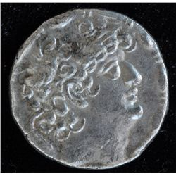 Philip Philadelphos (after 64 BC) - AR-Tetradrachm Obv: Diad. hd. of Philip r., fillet border  Rev: