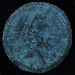 Hieropolis-Kastabala (39-31 BC) - AE-22  Tarkondimotos I, King of Cilicia, supported Mark Anthony  O