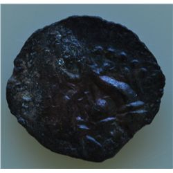 Jerusalem - Lot of 2 Hyncanus - (135-104 BC) AE-Prutah Obv: Hebrew letters surrounded by  wreath  Re
