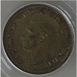 1937 Canada Ten Cent Brass Trial - CH DC-21, PCGS SP62. Lots of original patina. Produced at the Par