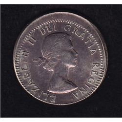 1961 Broad Strike Ten Cent  - Silver examples are rarely seen, this example looks mint state.