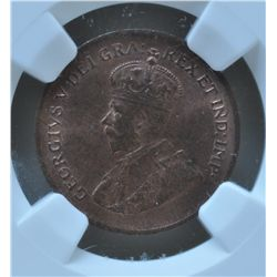 1928 One Cent - NGC MS64RB.