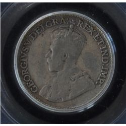 1921 Five Cent - PCGS F15, key date, original toning.