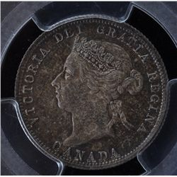 1900 Twenty Five Cent - PCGS MS63.