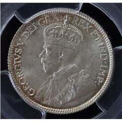 1936 Twenty Five Cent - PCGS MS65.