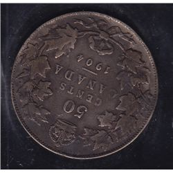 1904 Fifty Cent - ICCS F-15.