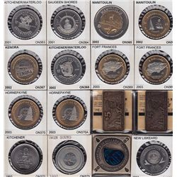 Large Lot of 440 Ontario Trade Dollars - Superb collection, all identified and all different. 440 Pc