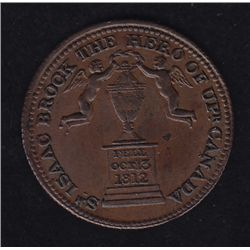 CH UC-6A2 - BR 724, Isaac Brock Success to Upper & Lower Canada Token, EF.
