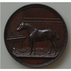 Lot of Two Horse Medals  - Obv. The Winnipeg Horse Show Association Limited. Rev. Wreath, blank in t