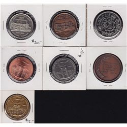 Small group of Seven Royal Canadian Mint related medals - 1 - Obv. Norval A Parker, Master of the Ro