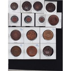 Lot of 14 Toronto Medals & Tokens - Lot of 14 Toronto Medals & Tokens - Includes: CNE medals from 19