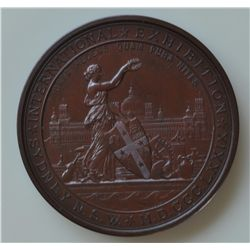 International Exhibition Sydney, N.S.W. - M.D. CCC. LXXIX/MRS. M. A. WILSON/FOR SERVICES. Bronze, 75