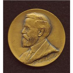 John D. Larkin & Wallace Silver, Lot of Two Medals - 1. Larkin established soap factory in Buffalo i