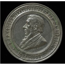 South Africa Medal  - S.J.P. Kruger, Staats president Der Z.A. Republiek 1883–1900, Obv. Bust of Kru