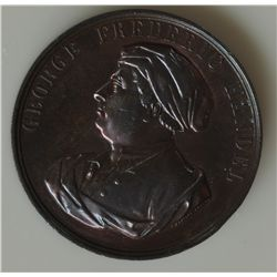 Great Britain Medal - Obv. George Frederic Handle (bust) Rev. Centenary/Commemorative/Crystal Palace