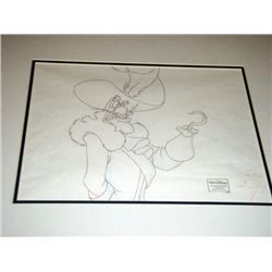 Disney Orig Animation Drawing Return to Never Land Hook