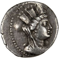 PHOENICIA: Anonymous, 2nd-1st Century BC, AR tetradrach