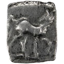 SCYTHIANS: Anonymous coinage, 110-100 BC, AR Square Hemidrachm (1.17g), Arachosia mint