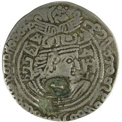 HEPHTHALITE: Vakhu Deva, very early 7th century, AR drachm (2.98g)