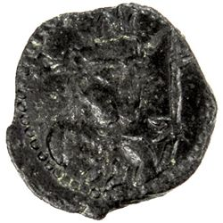 HEPHTHALITE: Shahi kings, 8th century, AE fraction (1.10g)