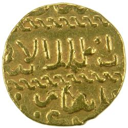 BURJI MAMLUK: Qa'itbay, 1468-1496, AV ashrafi (3.41g), mint uncertain, ND