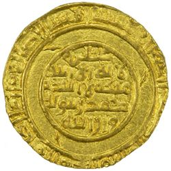 "ZANZIBAR / KILWA: in the name of al-Mustansir, 1036-1094, AV dinar (3.92g), ""Tarabulus"", ND"