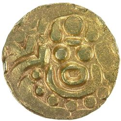 CHANDELLAS OF BUNDELKHAND: Madanavarmadeva, 1129-1163, AV stater (4.03g)