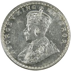 BRITISH INDIA: George V, 1910-1936, AR rupee, 1911 (b)