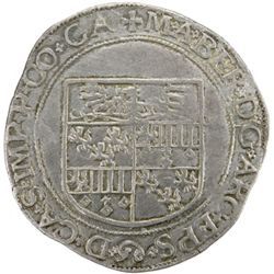 CAMBRAI: Maximilien de Berghes, 1556-1570, AR 5 patards (7.28g), ND (after 1559)
