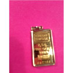 2.5 Gr Swiss Pure Gold Bar