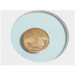 MINIATURE ST GAUDENS GOLD COIN