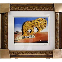 Salvador Dali Signed Limited Edition - The Enigma Of Desire