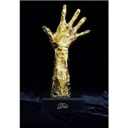 Dali Limited Edition 24K Gold Layered Bronze Sculpture- Helping Hand