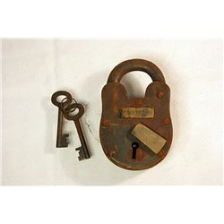 Antique Prison Lock