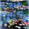 """Image 1 : """"Water Lilies"""" by Monet"""