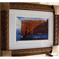 Salvador Dali Signed Limited Edition - Woman By The Cliffs