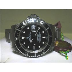 Pre-Owned Mens Stainless Steel Rolex Submariner Watch