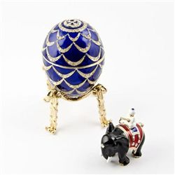 Kelch Pine Cone Faberge Egg