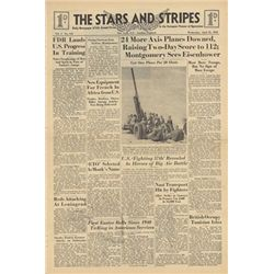 STARS AND STRIPES Newspaper Dated April 21 1943