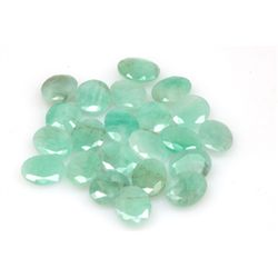 Natural 38.54ctw Emerald Oval (22) Stone