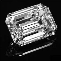 Diamond EGL Certified Emerald 1.22 ctw G, SI2