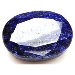 African Sapphire Loose Gems 242.71ctw Long Oval Cut