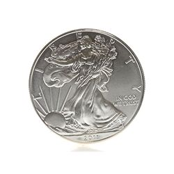 1 Oz. Coin Fine Silver USA One Dollar 2011