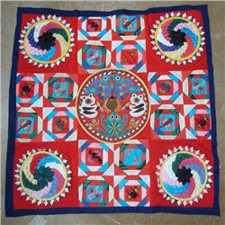 Chinese  Reversible Quilt